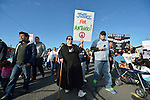 Participants in a February 14 2015 march in Pasco, Washington, that demanded justice for the killing of Antonio Zambrano Montes by three Pasco police officers on February 10.