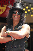 Slash honored with star on the Hollywood Walk Of Fame - Los Angeles