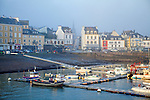 Le Palais (Breton: Porzh-Lae) It is one of the four communes on the island Belle &Icirc;le.<br /> Belle-&Icirc;le, Belle-&Icirc;le-en-Mer, or Belle Isle (ar Gerveur in Modern Breton; Guedel in Old Breton) is a French island off the coast of Brittany in the d&eacute;partement of Morbihan, and the largest of Brittany's islands. It is 14 km from the Quiberon peninsula.