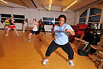 Kickboxing Class..Vassar College
