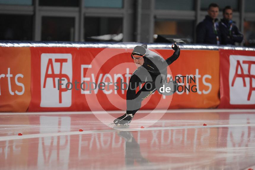 SCHAATSEN: AMSTERDAM: Olympisch Stadion, 28-02-2014, KPN NK Sprint/Allround, Coolste Baan van Nederland, Ronald Mulder, ©foto Martin de Jong