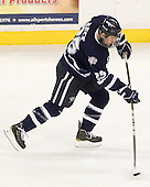 Mike Beck (UNH - 25) - The visiting University of New Hampshire Wildcats defeated the University of Massachusetts-Lowell River Hawks 3-0 on Thursday, December 2, 2010, at Tsongas Arena in Lowell, Massachusetts.