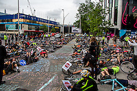 21.05.2014 - Stop The Killing Of Cyclists – Draw-In & Die-In at Elephant & Castle Roundabout