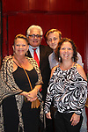 Guiding Light's Kim Zimmer poses with her son Max and friends Greg Anselni & wife Rosanne at the Barn Theatre - A Celebration at Feinsteins/54 Below, New York City, New York on April 28. 2017. Barn Theatre is located in Augusta, Michigan.  (Photo by Sue Coflin/Max Photos)