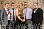 Pa Lynch, Chris Lynch, Deirdre Lynch, Paul Holden and Tommy Leahy, attending the Kerins Park 50th anniversary social held at The Rose Hotel, Tralee, on Saturday night last.