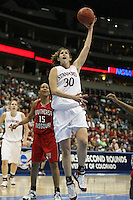 18 March 2006: Brooke Smith during Stanford's 72-45 win over Southeast Missouri State in the first round of the NCAA Women's Basketball championships at the Pepsi Center in Denver, CO.
