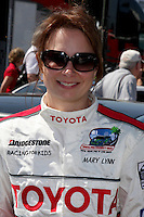 Mary Lynn Rajskub  at  the 33rd Annual Toyota Pro/Celeb Race Press Day at the Grand Prix track in Long Beach, CA on April 7, 2009.©2009 Kathy Hutchins / Hutchins Photo....                .