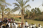 Baptism of the Lord holiday in Qasr al Yahud