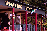 Whale Watching Tours Station in Tofino, on Vancouver Island, British Columbia, Canada (No Property Release)