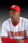 25 February 2007: Washington Nationals outfielder Tony Blanco poses for his Photo Day portrait at Space Coast Stadium in Viera, Florida.<br /> <br /> Mandatory Photo Credit: Ed Wolfstein Photo<br /> <br /> Note: This image is available in a RAW (NEF) File Format - contact Photographer.