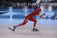 SCHAATSEN: DEVENTER: IJsstadion De Scheg, 13-10-2013, Nationale schaatswedstrijd de IJsselcup, Thijsje Oenema, ©foto Martin de Jong