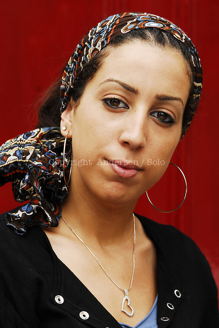Faiza Guene, French writer in 2006.