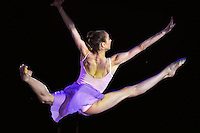 "VIKTORIA MAZUR of Ukraine performs gala at 2011 World Cup Kiev, ""Deriugina Cup"" in Kiev, Ukraine on May 8, 2011."