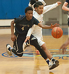 8172<br /> Eagle River&rsquo;s Daniel Toribio  and  and Bartlett&rsquo;s Anthony Camacho battle for the ball Thursday Feb. 16, 2017. Photo by Michael Dinneen for the Star