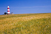 Lighthouse at Happisburgh, Norfolk coast, United Kingdom