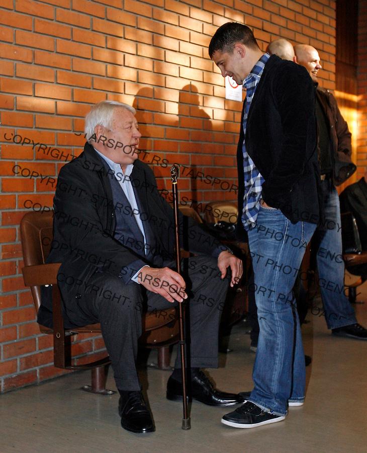 Sudjenje, Perica Ognjenovic, Vladimir Cvetkovic,  6.12.2011.  (© photo: Pedja Milosavljevic / thepedja@gmail.com / 381641260959 )