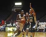 Ole Miss' Pa'Sonna Hope vs. Mississippi Valley State in women's college basketball action in Oxford, Miss. on Wednesday, December 15, 2010. Pa'Sonna Hope had a career-high 15 rebounds and her first career double-double with 11 points.
