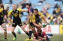 Nicholas Ryan (Sungoliath),.JANUARY 15, 2012 - Rugby :.Japan Rugby Top League 2011-2012 match between Suntory Sungoliath 43-26 Kintetsu Liners at Prince Chichibu Memorial Stadium in Tokyo, Japan. (Photo by Hitoshi Mochizuki/AFLO)