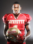 Lafayette High quarterback Jeremy Liggins, the Oxford Eagle's player of the year for 2009.