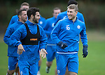 St Johnstone Training&hellip;.14.10.16<br />David Wotherspon and Richie Foster pictured in training this morning atr McDiarmid Park ahead of tomorrows game against Kilmarnock<br />Picture by Graeme Hart.<br />Copyright Perthshire Picture Agency<br />Tel: 01738 623350  Mobile: 07990 594431