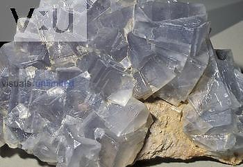 Fluorite crystals, Switzerland.
