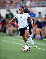 Sydney Leroux.  The USWNT defeated Brazil, 4-1, at an international friendly at the Florida Citrus Bowl in Orlando, FL.