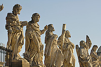 Poland, Krakow, Statues of Twelve Disciples, Church of Sts. Peter and Paul, Kosciól swietego Piotra i Pawla