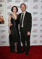 "Hollywood, CA - NOVEMBER 16: Miranda July, Mike Mills, At AFI FEST 2016 Presented By Audi - A Tribute To Annette Bening And Gala Screening Of A24's ""20th Century Women"" At The TCL Chinese Theatre, California on November 16, 2016. Credit: Faye Sadou/MediaPunch"