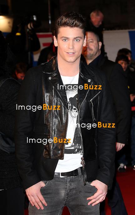 BASTIAN BAKER  / January 26,, 2013- Bastian Baker attends the NRJ Music Awards at Palais des Festivals in Cannes, France.