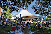 The nettles Wireless Pavilion located on the historical Charlottesville Downtown Mall in the heart of Charlottesville, VA. Photo/Andrew Shurtleff