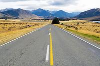 Highway to Arthur's Pass, New Zealand