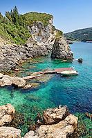 La Grotta Cove at Corfu, Greece