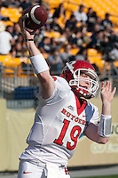 Rutgers quarterback Chas Dodd. The Pittsburgh Panthers defeated the Rutgers Scarlet Knights 41-21 on October 23, 2010 at Heinz Field, Pittsburgh, Pennsylvania....