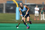 25 October 2014: North Carolina's Abby Frey. The University of North Carolina Tar Heels hosted the Wake Forest University Demon Deacons at Francis E. Henry Stadium in Chapel Hill, North Carolina in a 2014 NCAA Division I Field Hockey match. UNC won the game 3-1.