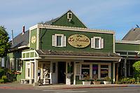 La Traviata Italian restaurant in La Conner, Washington state, USA