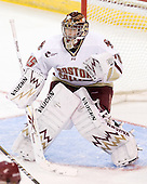 Parker Milner (BC - 35) - The Boston College Eagles defeated the visiting University of Toronto Varsity Blues 8-0 in an exhibition game on Sunday afternoon, October 3, 2010, at Conte Forum in Chestnut Hill, MA.