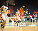 Ole Miss' Kayla Melson (20) vs. Auburn in women's college basketball at the C.M. &quot;Tad&quot; SMith Coliseum in Oxford, Miss. on Thursday, February 25, 2010.
