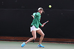 WINSTON-SALEM, NC - MARCH 17: Notre Dame's Mary Closs. The Wake Forest University Demon Deacons hosted the University of Notre Dame Fighting Irish on March 17, 2017, at Wake Forest Tennis Center in Winston-Salem, NC in a Division I College Women's Tennis match. Notre Dame won the match 4-1.