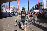 Sam Bennett (IRL) Bora-Hansgrohe at sign on for Gent-Wevelgem in Flanders Fields 2017, running 249km from Denieze to Wevelgem, Flanders, Belgium. 26th March 2017.<br /> Picture: Eoin Clarke | Cyclefile<br /> <br /> <br /> All photos usage must carry mandatory copyright credit (&copy; Cyclefile | Eoin Clarke)