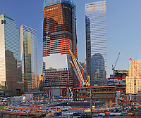 Looking at World Trade Center, Twin Tower Site, From New York W Downtown Hotel,  Manhattan, New York City, New York