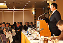 February 14, 2011, Tokyo, Japan - Masaru Isshiki, a former Japanese coastguardsman, speaks during a news conference at Tokyo&Aring;fs Foreign Correspondents&Aring;f Club of Japan on Monday, February 14, 2011. Isshiki explained the reason why he went public with a video clip showing the Sept. 7 collision between a Chinese trawler and Japanese Coast Guard cutter off the disputed Senkaku Island in the East China Sea. It was the first time Isshiki spoke to the media after he posted the controversial video footage on the YouTube.&Aring;@(Photo by Natsuki Sakai/AFLO) [3615] -mis-
