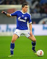 FUSSBALL   1. BUNDESLIGA   SAISON 2012/2013   5. SPIELTAG FC Schalke 04 - FSV Mainz 05                               25.09.2012        Kyriakos Papadopoulos (FC Schalke 04)  Einzelaktion am Ball