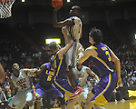 "Ole Miss forward Terrance Henry (1) scores at the C.M. ""Tad"" Smith Coliseum in Oxford, Miss. on Wednesday, February 9, 2011. Ole Miss won 66-60 and is now 4-5 in the Southeastern Conference."