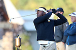 30 October 2016: Virginia Commonwealth University's Errol Clark. The First  and Second Rounds of the 2016 Bridgestone Golf Collegiate NCAA Men's Golf Tournament hosted by the University of North Carolina Greensboro Spartans was held on the West Course at the Grandover Resort in Greensboro, North Carolina.