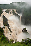 Barron Falls after Cyclone Yasi