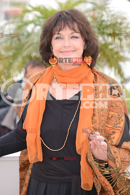 "Anne Duperey attending the ""vous n'avez encore rien vu"" Photocall during the 65th annual International Cannes Film Festival in Cannes, France, 21th May 2012...Credit: Timm/face to face / Mediapunchinc"