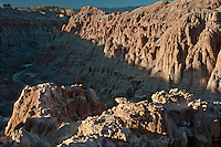 731950024 panaca formation hoodoos at sunrise from millers point in cathedral gorge state park nevada united states