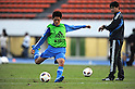 (L-R) Toshiyuki Takagi,  Takashi Sekizuka (JPN),.OCTOBER 18, 2011 - Football / Soccer :.U-22 Japan team candidates training camp in Tokyo, Japan. (Photo by FAR EAST PRESS/AFLO)