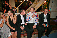 Frampton, Gloucestershire, England, 08/11/2003..The Berkeley Hunt Ball at the start of what may be the last legal hunting season in the UK, as Parliament moves to ban hunting with dogs.