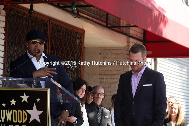 LOS ANGELES - MAR 5:  LL Cool J, James Todd Smith, Chris O'Donnell at the Chris O'Donnell Hollywood Walk of Fame Star Ceremony at the Hollywood Blvd on March 5, 2015 in Los Angeles, CA